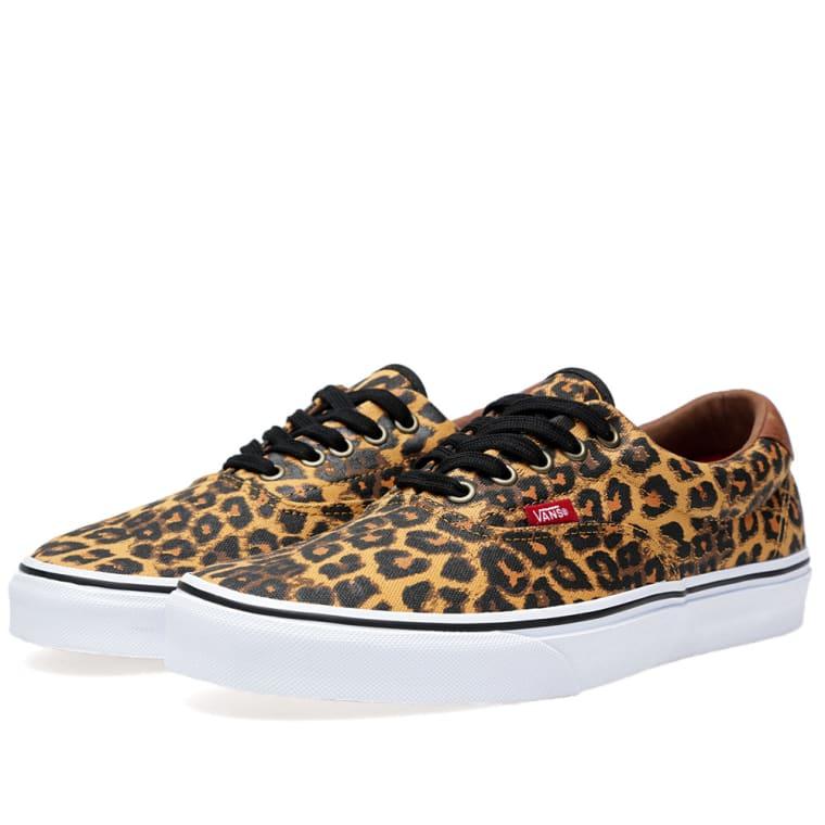 vans era 59 leopard