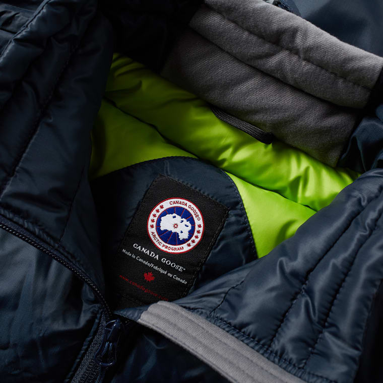 Canada Goose Lodge Jacket Ink Blue Amp Firefly End