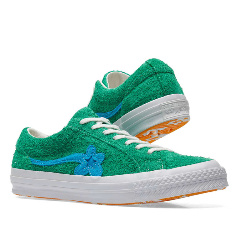 Converse x Golf Le Fleur One Star (Jolly Green) | END.
