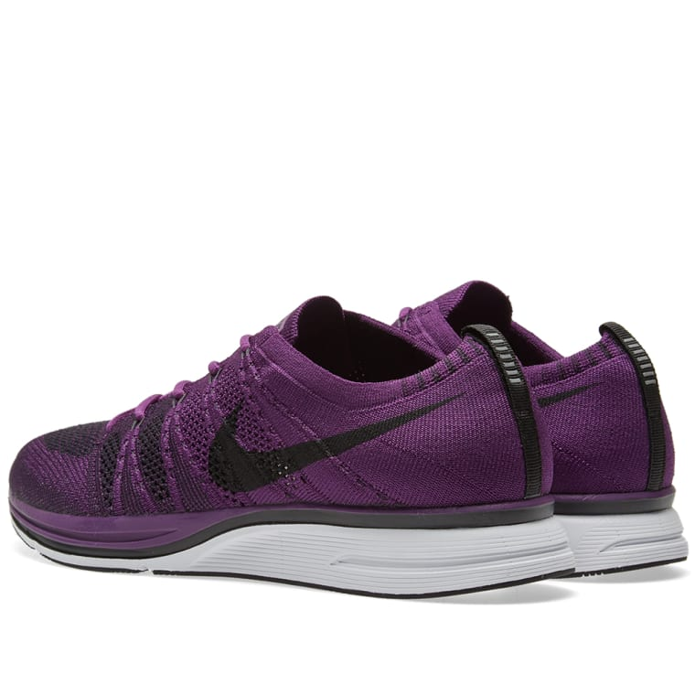 a4d007abe7a ... authentic nike flyknit trainer night purple black white 3 9c73b 4c4f6