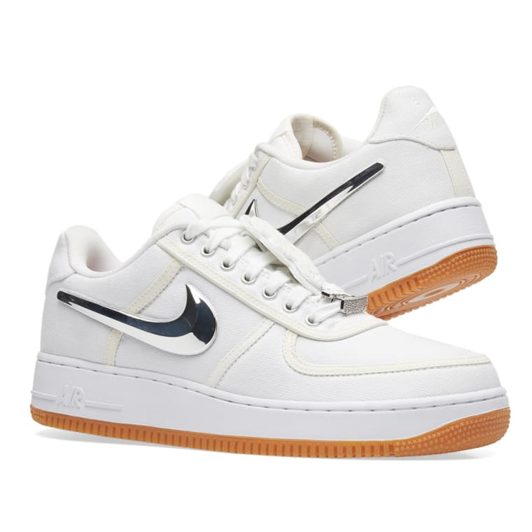 2017 Nike Air Force 1 Low 'Travis Scott' White For Sale