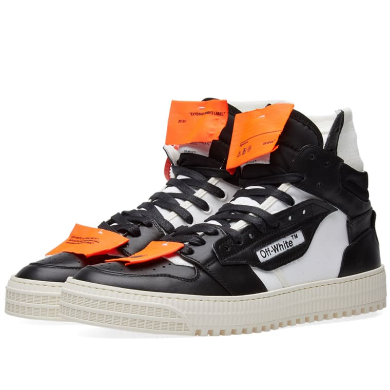 Off-White 3.0 Low Sneaker Black  White 1