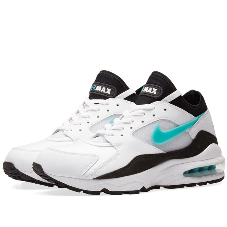 separation shoes 2e9da 7379a ... coupon for nike air max 93 white sport turquoise black 1 1d1a3 fbbef ...