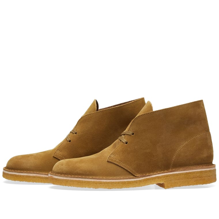 Clarks Originals Desert Boot - Made in Italy (Olive Suede)   END. b775666c275e
