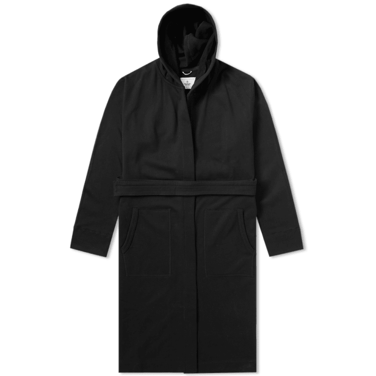 61754a142e7c0 Reigning Champ Hooded Robe (Black)   END.