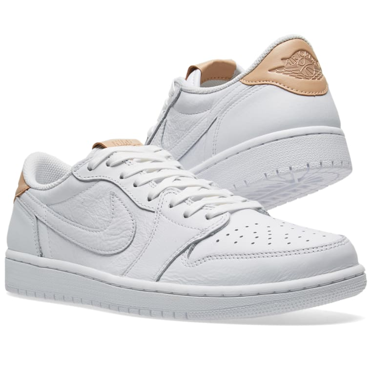 fbece9e083450b ... Shoes SPZWYGV Nike Air Jordan 1 Retro Low OG Premium White Vachetta Tan  ...