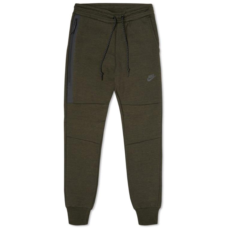 69a767ff4512 Nike Tech Fleece Pant (Cargo Khaki   Black)