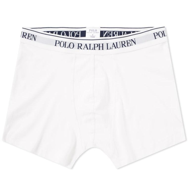 Polo Ralph Lauren Cotton Trunk - 3 Pack  White  2