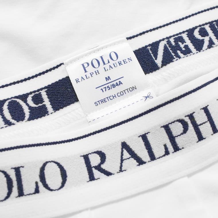 Polo Ralph Lauren Cotton Trunk - 3 Pack  White  3