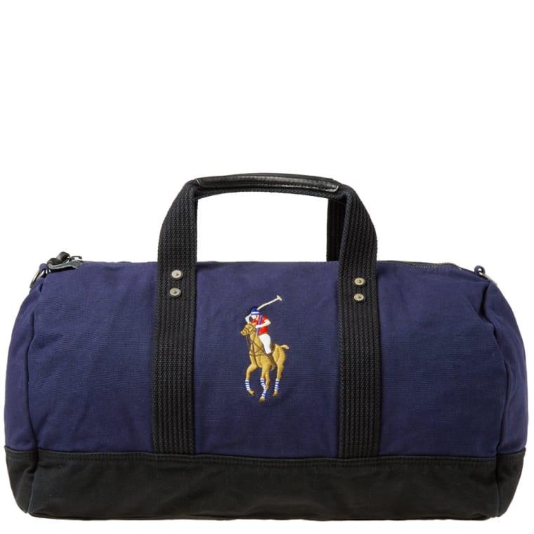 Polo Ralph Lauren Player Canvas Duffle Bag Navy 1