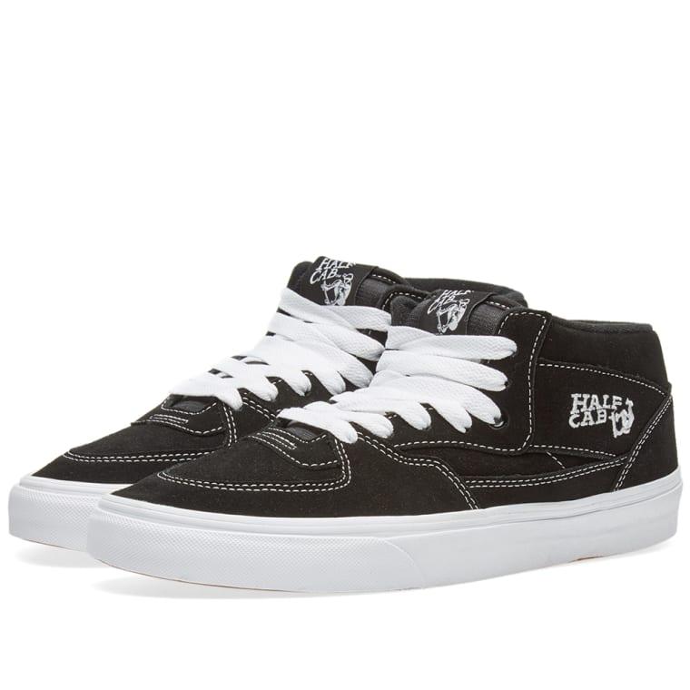 c6ab400e63 Vans Half Cab (Black)