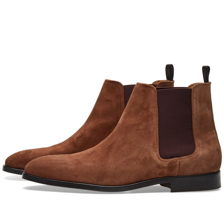 Paul Smith Gerald Chelsea Boot Camel Suede End