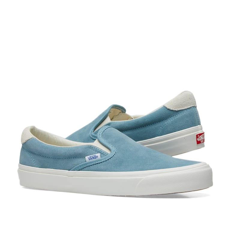 1024a97623c Vans Vault OG Slip On 59 LX (Smoke Blue   Marshmallow)