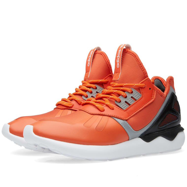 adidas tubular orange