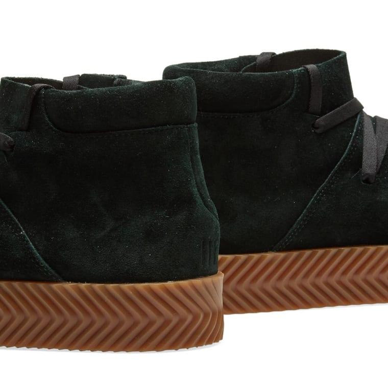 newest 92e35 dc5af Adidas Originals by Alexander Wang Skate Mid Green Night 4