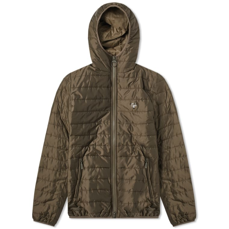 Barbour Birkhouse Quilted Jacket Olive End