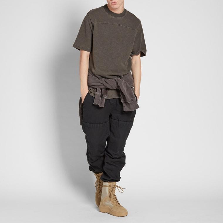 Yeezy Season 7 Ripped Adidas Tee