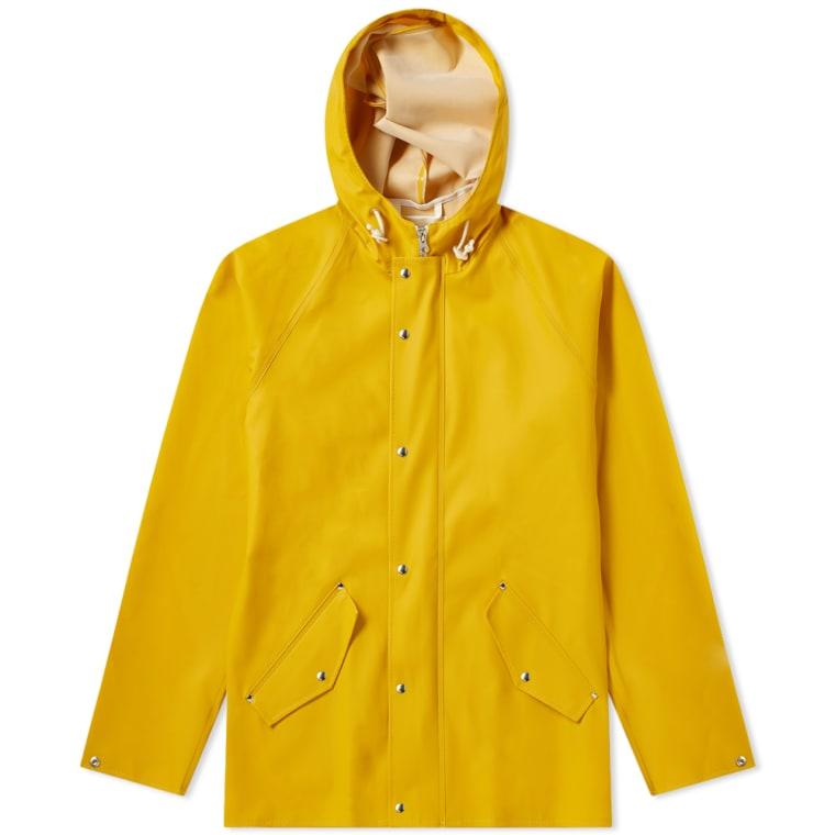 Norse Projects x Elka Anker Rain Jacket (Mustard Yellow)  68c6e40b60bb