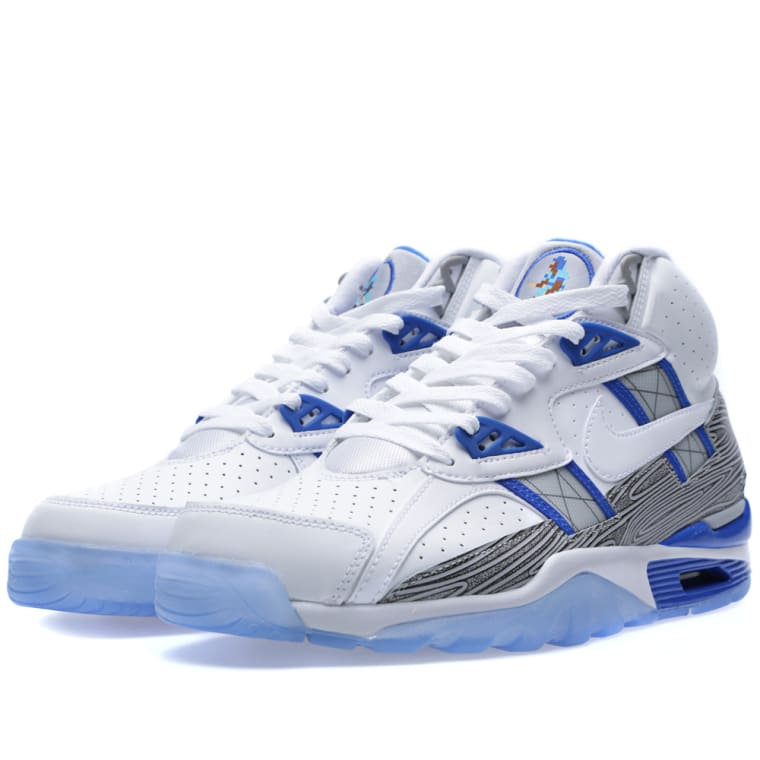 low priced 731c7 6a533 ... discount code for nike air trainer sc high prm qs broken bats white wolf  grey 5