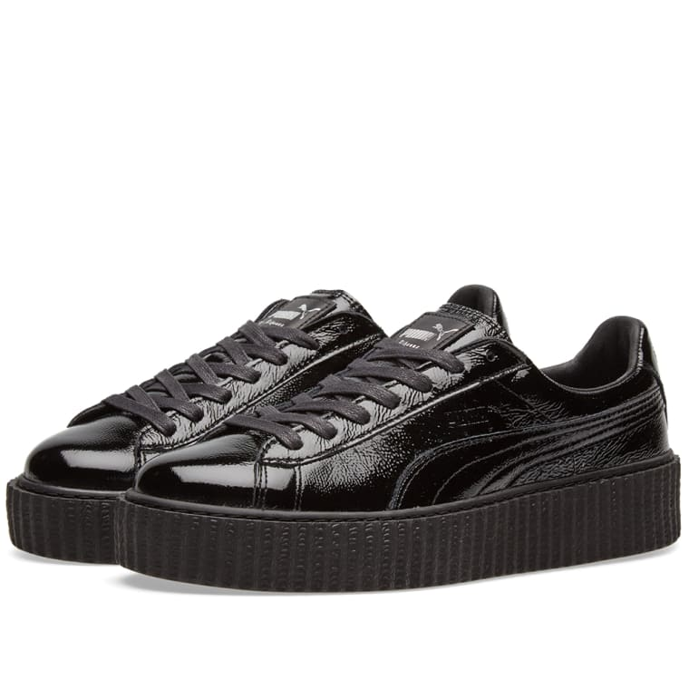 199371a0e3f Puma x Fenty by Rihanna Cracked Creeper (Black)