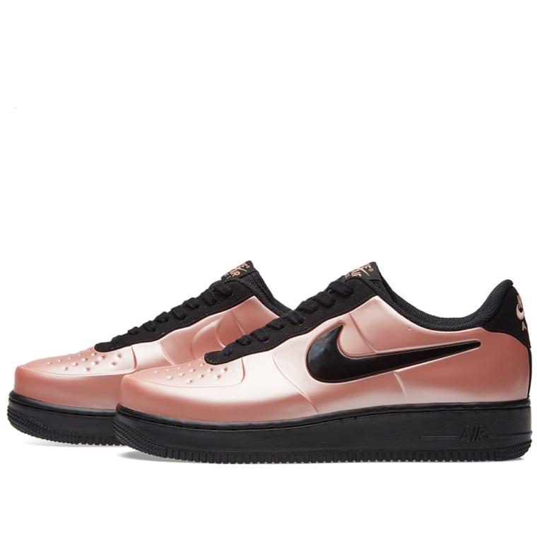 48997a34c3e2b Nike Air Force 1 Foamposite Pro Cupsole (Coral Stardust   Black)