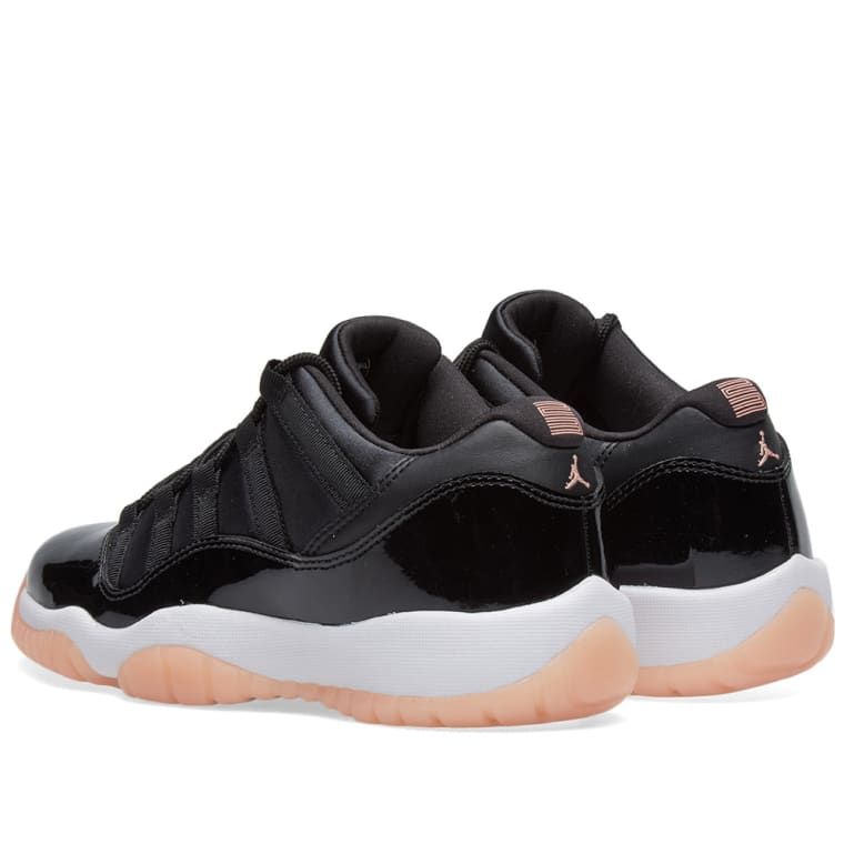 e171d5a72a746e Nike Air Jordan 11 Retro Low BG (Black