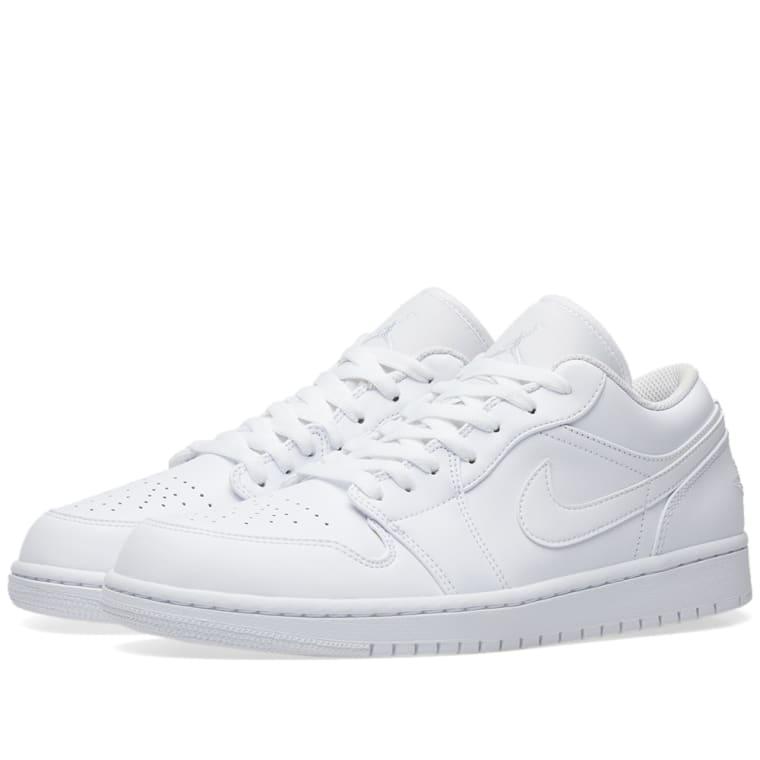 80d639b856f77 Air Jordan 1 Low White Pure Platinum ...