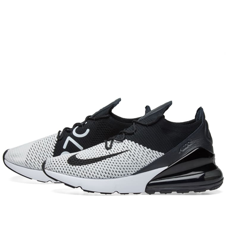 best loved 1982f 32424 ... reduced nike air max 270 flyknit white black anthracite 2 6f5d1 e3b42
