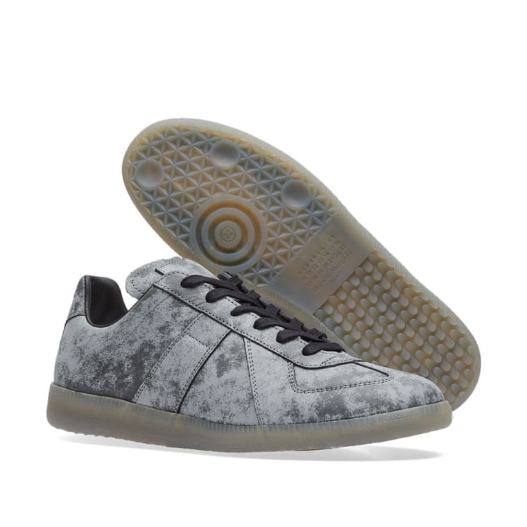 Maison Margiela Grey & Reflective Replica Sneakers