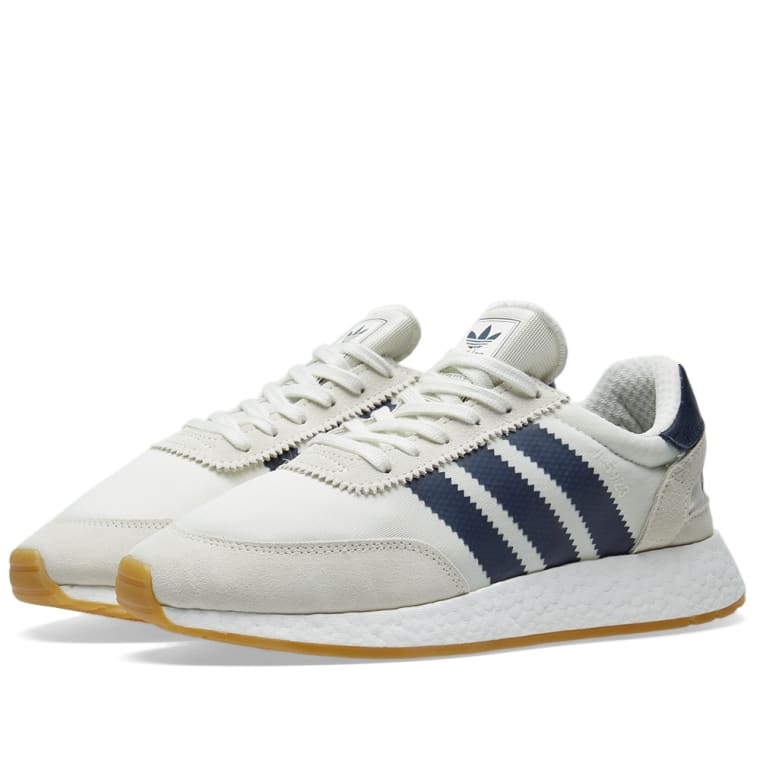 Adidas I 5923 White Grey Amp Gum End