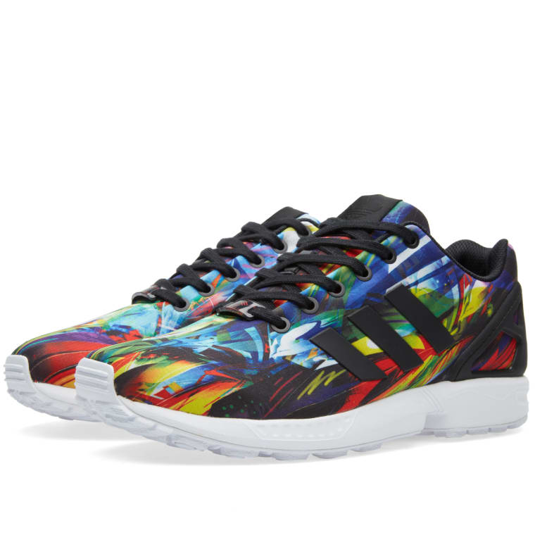 newest collection b1037 2f3e8 Adidas ZX Flux Core Black  White 1