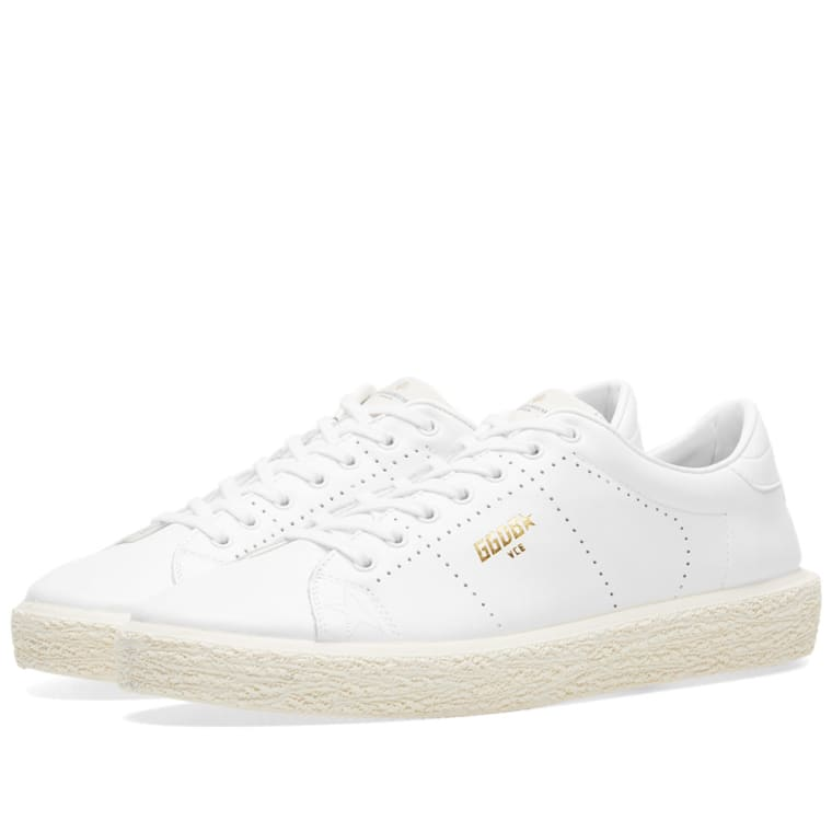 Golden Goose White Perey Sneakers