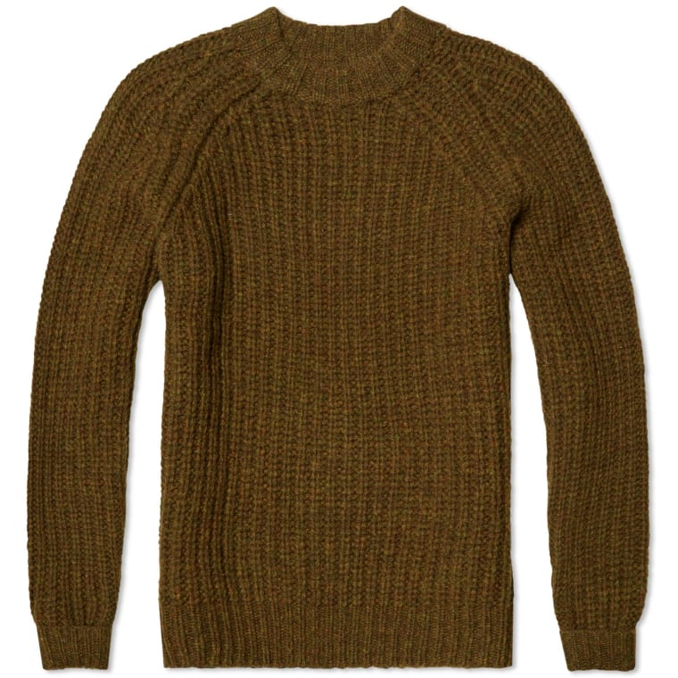 Levi's Vintage Clothing Ribbed Fisherman Sweater (Puddle) | END.