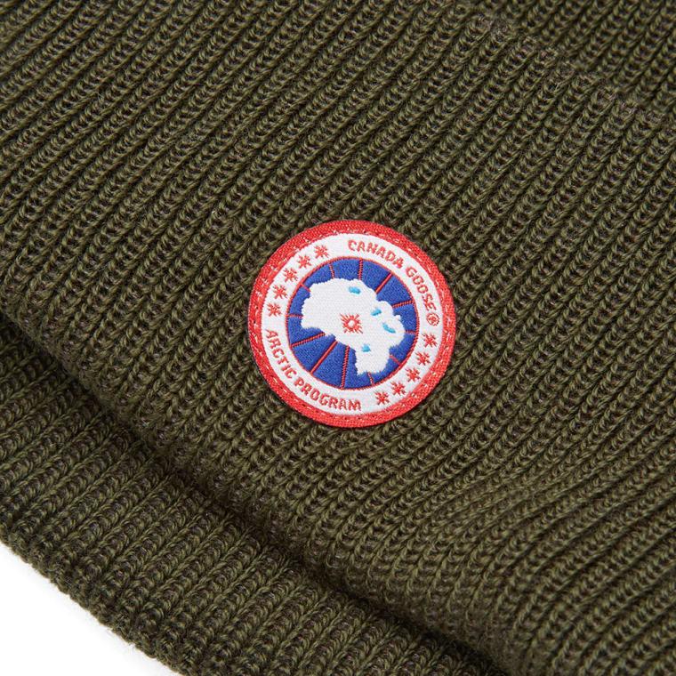 Canada Goose Merino Wool Watch Cap (Military Green)  4d9c63ae3365