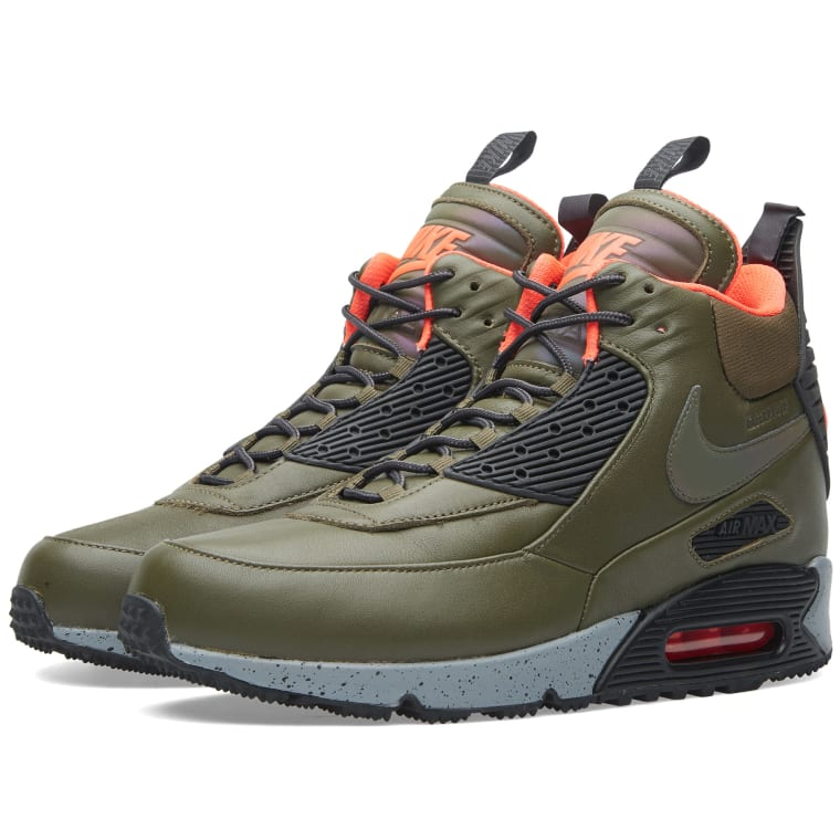 online store 54b2b fff1f ... new zealand nike air max 90 sneakerboot winter dark loden black 1 0fc49  5592d