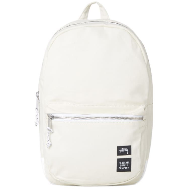 f0d01449dbc7 Stussy x Herschel Supply Co. Heavy Canvas Lawson Backpack (White)