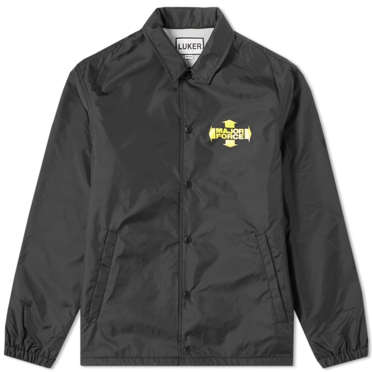 luker by neighborhood mf coach jacket black end