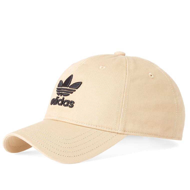 b6aa6a42970 Adidas Trefoil Cap (Linen Khaki)