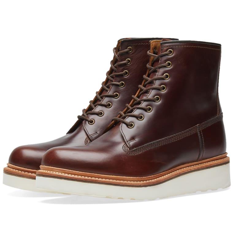 Grenson Arnold Boot (Chestnut Pull Up)