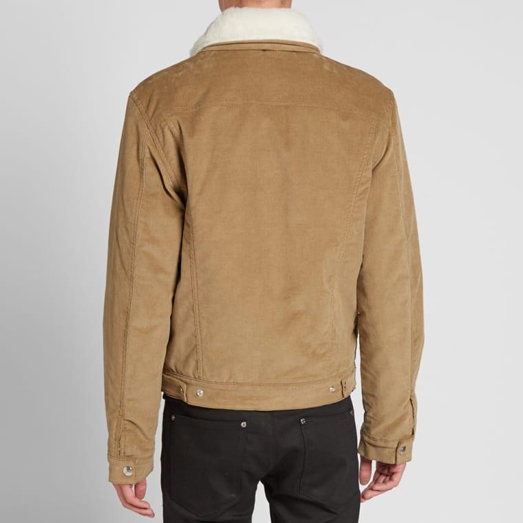Acne Studios Beat Cord Jacket Khaki End