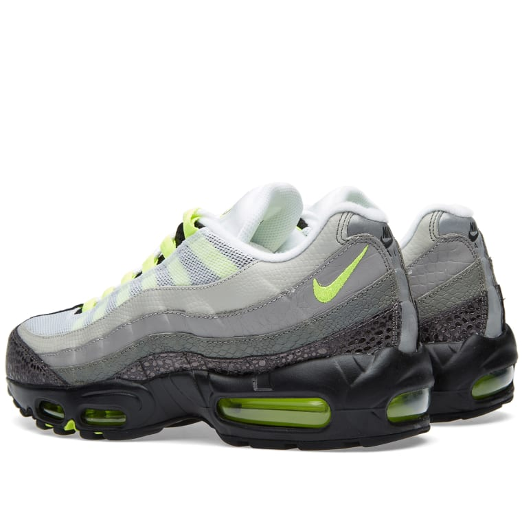 sale retailer 13715 64a24 Nike Air Max 95 OG Premium Animal Black, Volt  Medium Ash 2