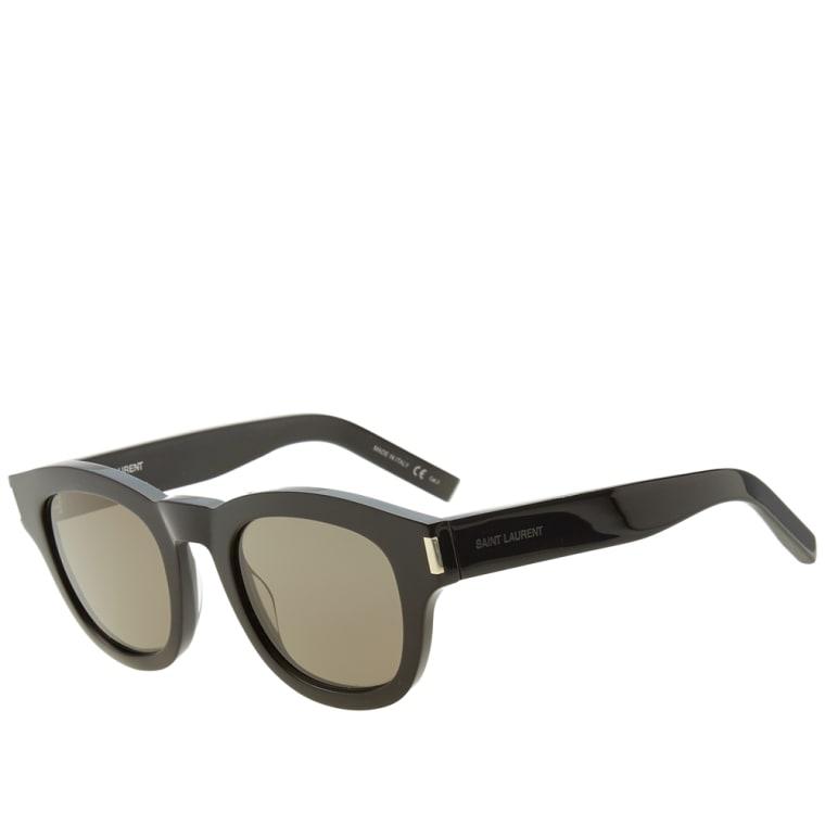 2d1fd0ce2a6 Saint Laurent Bold 2 Sunglasses (Black   Smoke)
