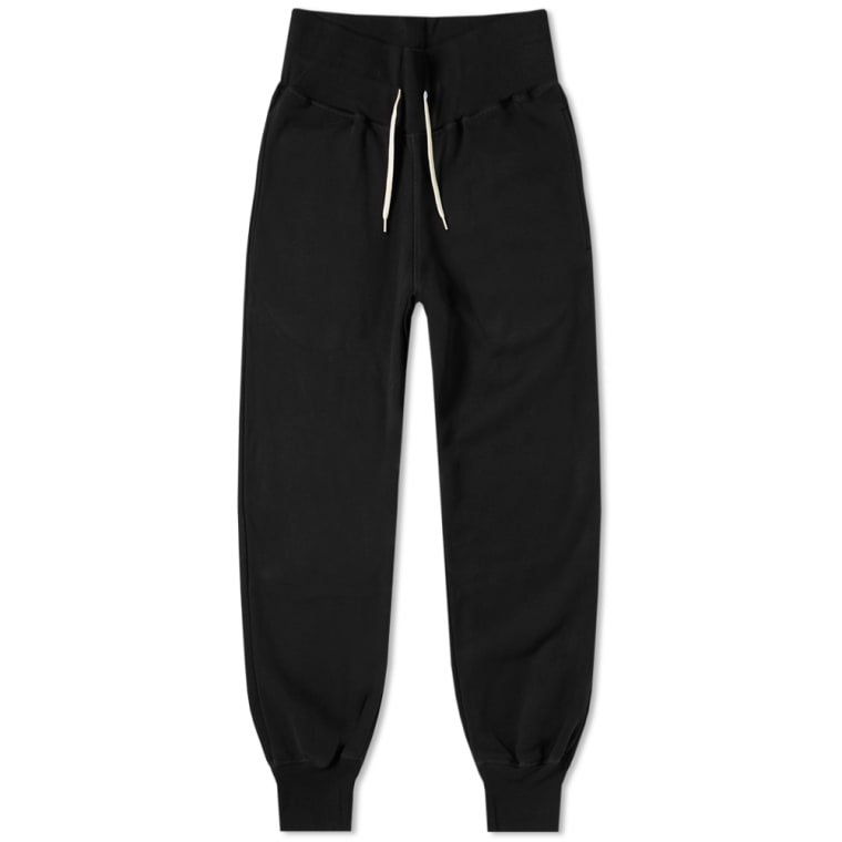 SPALWART TEAM BAGGY SWEAT PANTS in BLACK