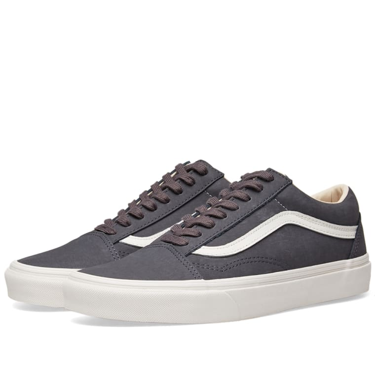 vans old skool vansbuck asphalt blanc de blanc end. Black Bedroom Furniture Sets. Home Design Ideas