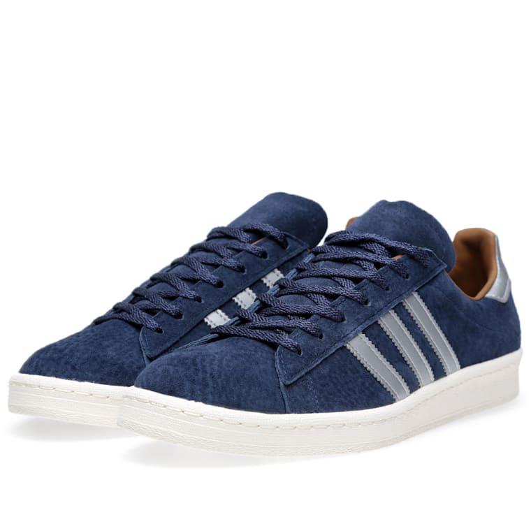 sports shoes 1d015 1b8a6 Adidas x Mita Campus 80s Navy  Metallic Silver 2