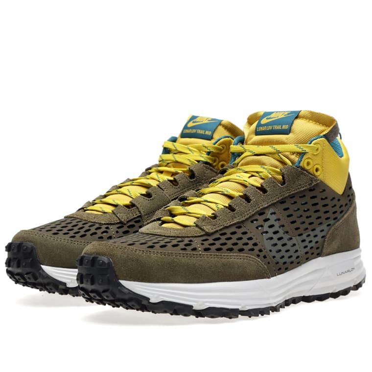 quality design 6566e e2c61 ... Nike Lunar LDV Sneakerboot Dark Loden Medium Olive ...