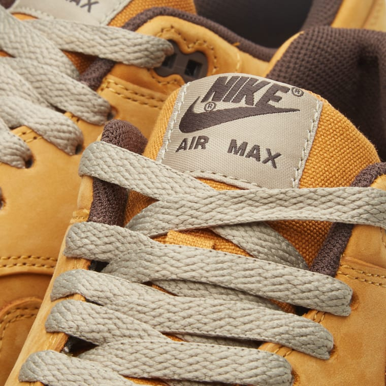 hot sale online 18933 66efe Nike Air Max 1 Leather Premium  Wheat  Bronze   Baroque Brown 1