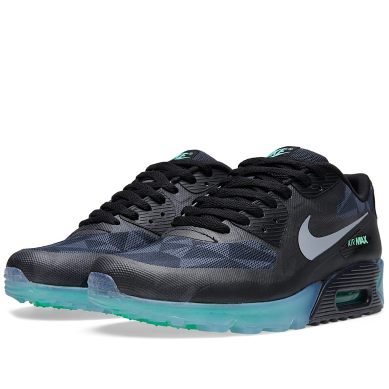 90 Cool Outdoor Halloween Decorating Ideas: Nike Air Max 90 Ice QS (Black, Cool Grey & Anthracite)