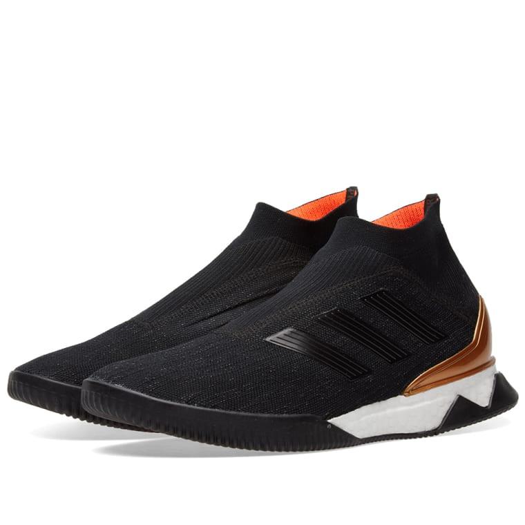 Adidas Consortium Nemeziz Predator Tango 18+ TR Core Black, White  Gold 1