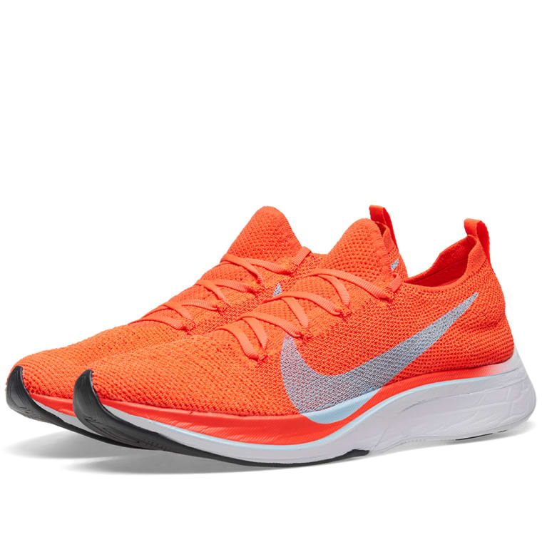 sports shoes 96594 a13e2 Nike Vaporfly 4 Flyknit Crimson Blue Red White End